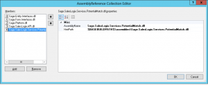 Infor CRM add Assembly Reference