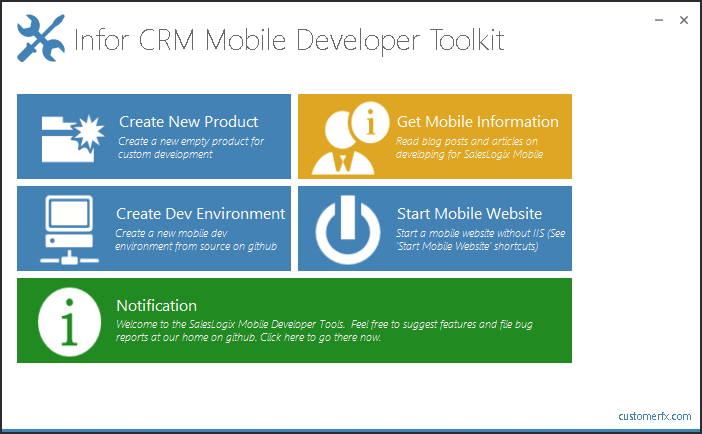 Mobile Developer Toolkit