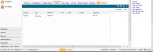 Infor CRM Activities Tab