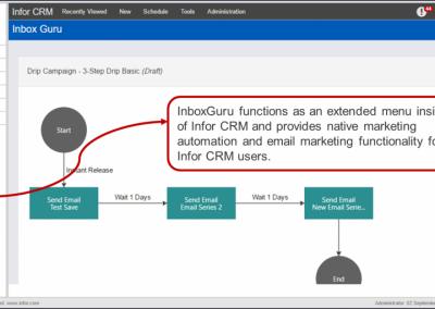 InboxGuru Infor CRM Integration