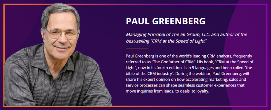 Paul Greenberg CRM Guru