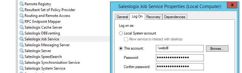 Saleslogix Services